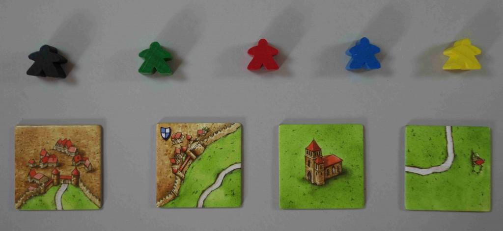 Carcassonne éléments