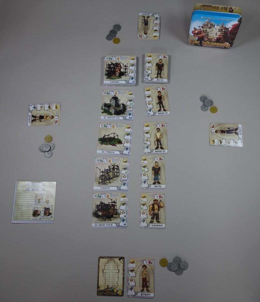 Les Bâtisseurs Moyen-Age jeu