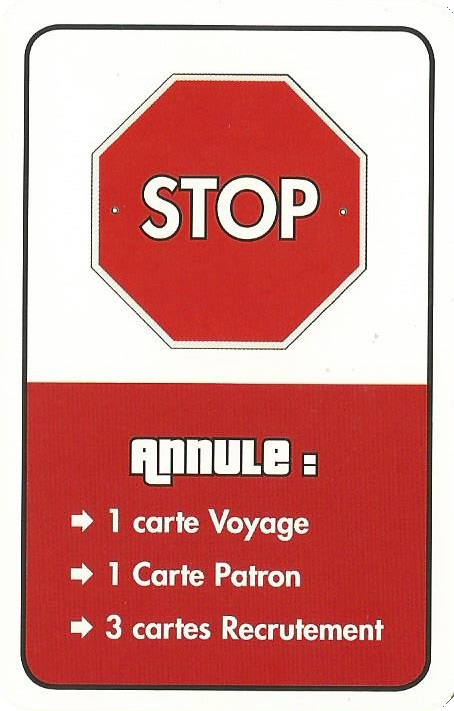 C'est moi le patron carte stop