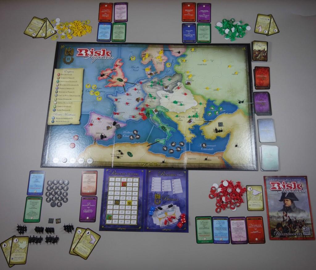 Risk Napoléon jeu