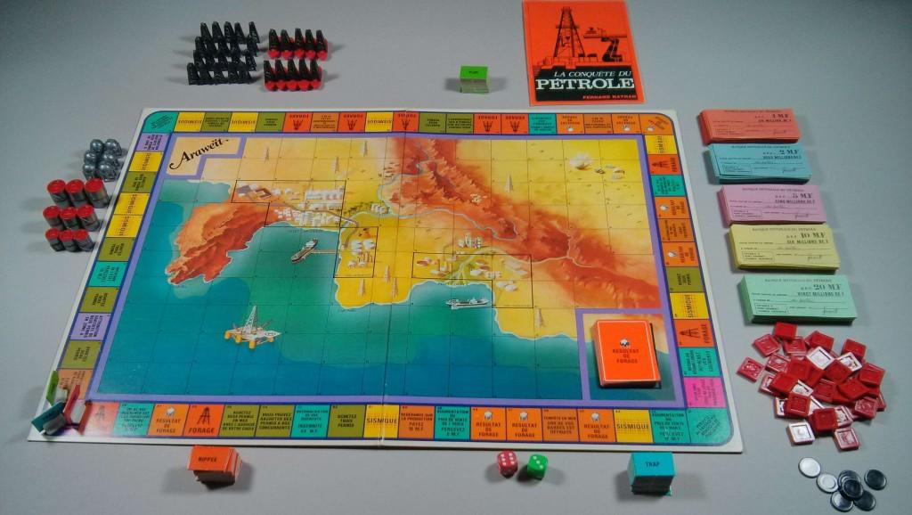 La conquête du pétrole jeu