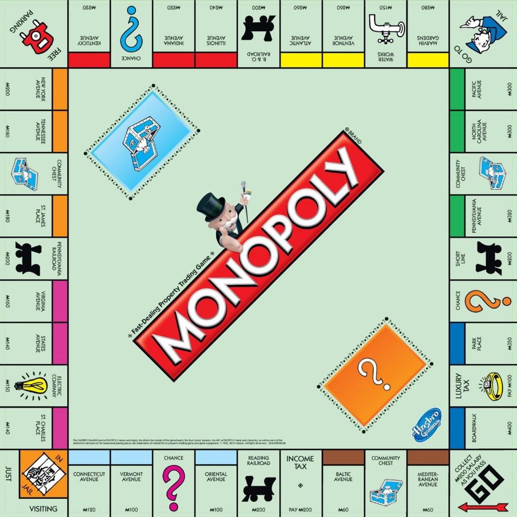 Monopoly jeu