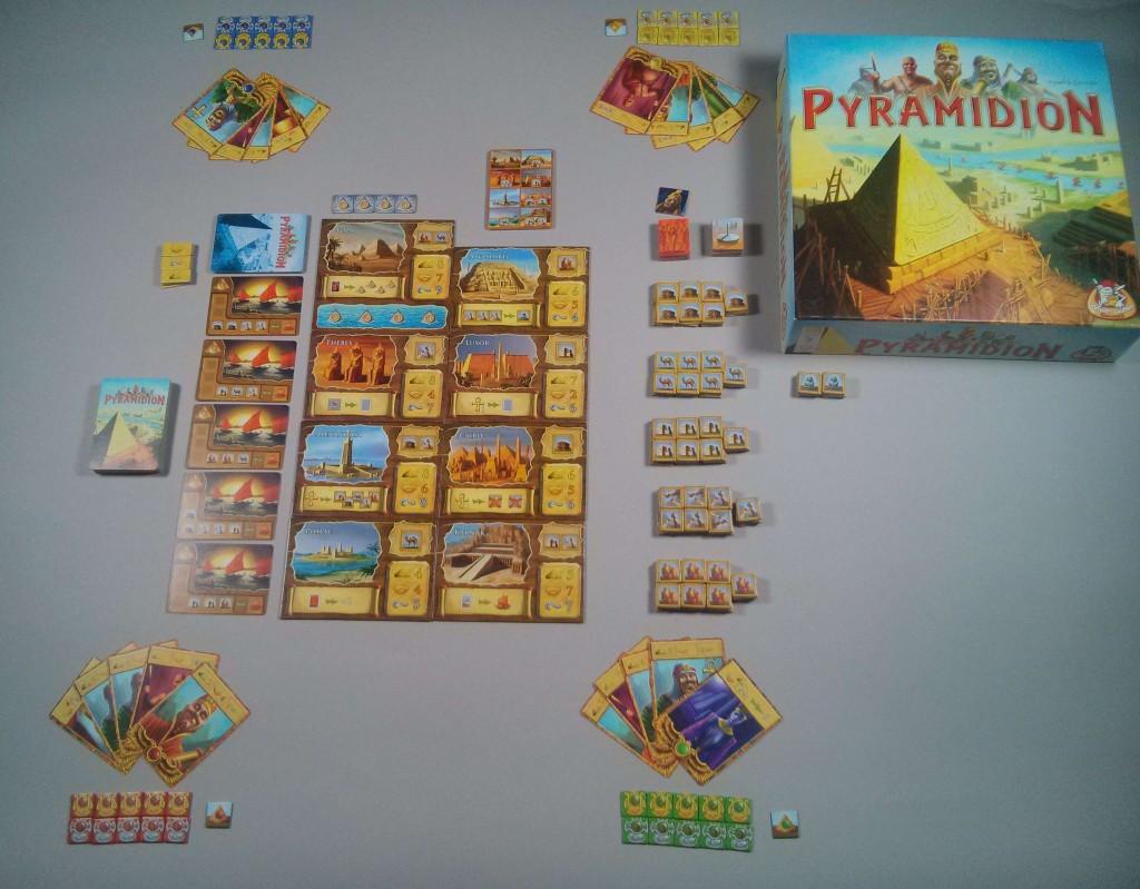 Pyramidion jeu