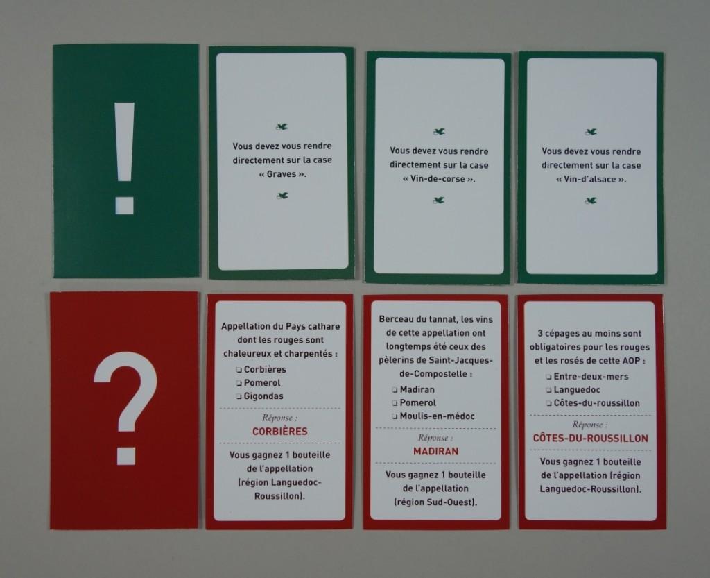 Vinitour cartes exclamations interrogations