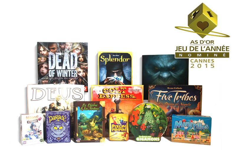 as d'or nominé festival international des jeux à cannes