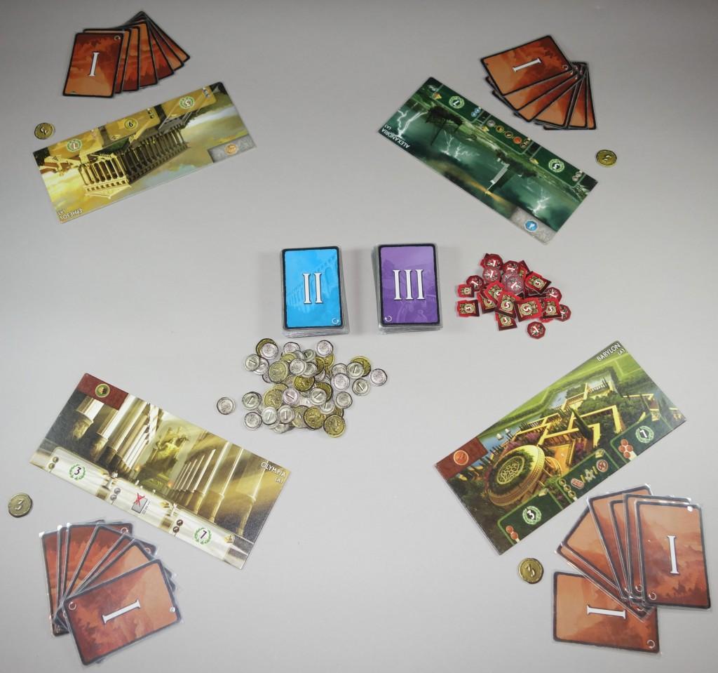 7 wonders 4 joueurs
