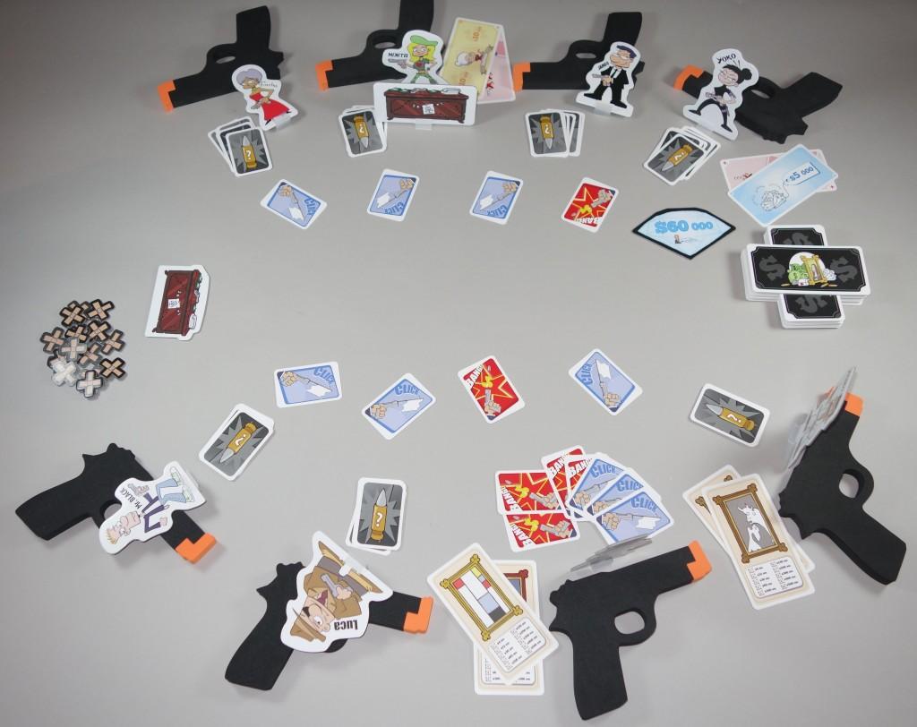 Cash'N Guns partie en cours placement